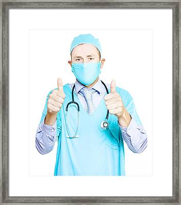 Success In Healthcare Framed Print by Jorgo Photography - Wall Art Gallery