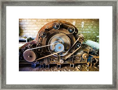 Sucre Hat Factory Framed Print by For Ninety One Days