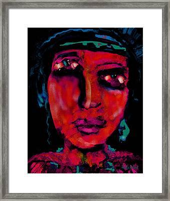 Suffering Framed Print