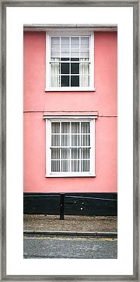 Suffolk Pink Framed Print