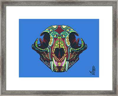 Sugar Lynx  Framed Print