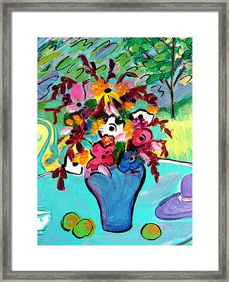 Summer Blooms 2  Framed Print