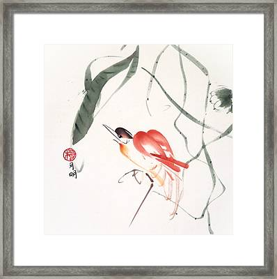 Summer Breeze Framed Print by Ming Yeung