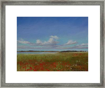 Summer Day Framed Print by Jeanne Rosier Smith