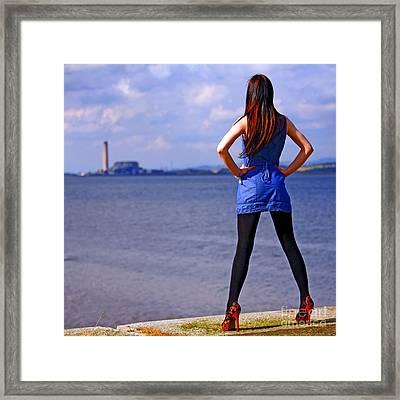 Summer Dress Framed Print by Craig B