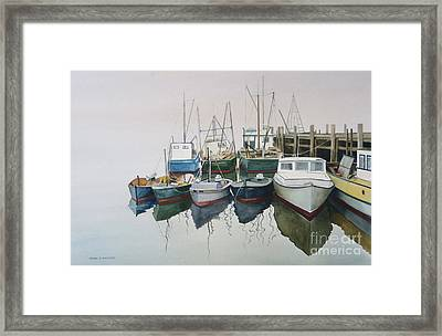 Summer Fog Framed Print