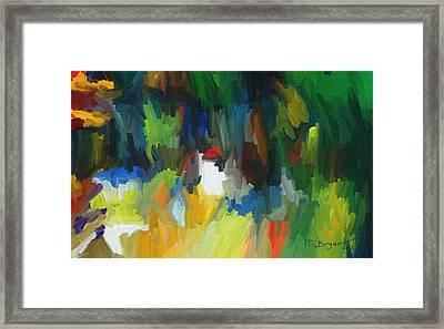Summer Garden Framed Print by Thomas Bryant