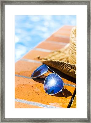 Summer Pool Party Framed Print by Jorgo Photography - Wall Art Gallery