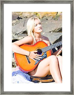 Summer Serenade  Framed Print