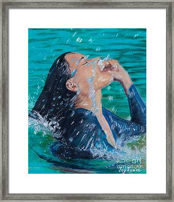 Summer Splash Framed Print