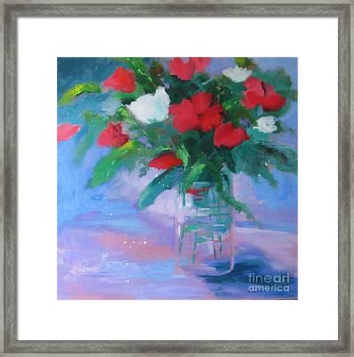 Summer Vase Framed Print