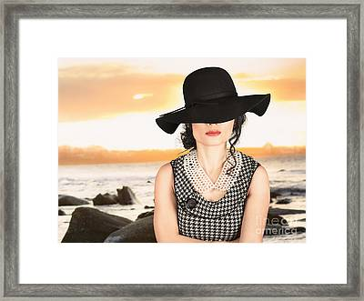 Summer Vintage Beauty Framed Print by Jorgo Photography - Wall Art Gallery