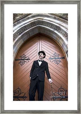 Sunday Service Man Framed Print