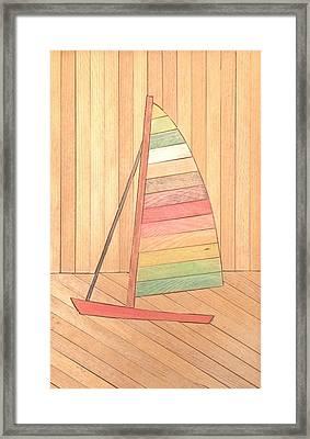 Sunfish Framed Print