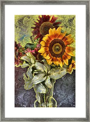 Sunflower Et Al. Framed Print