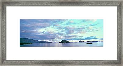 Sunrise At The Islands Of Loreto Framed Print
