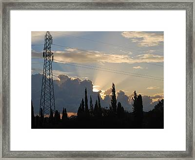 Sunrise Framed Print by George Katechis