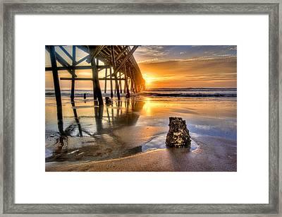 Sunrise In Myrtle Beach Framed Print