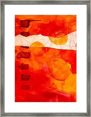 Sunrise Framed Print by Nancy Merkle