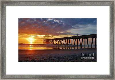Sunrise Panorama  16x9 Ratio Framed Print by Bob Sample