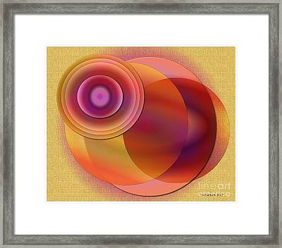 Framed Print featuring the digital art Sunsational by Iris Gelbart