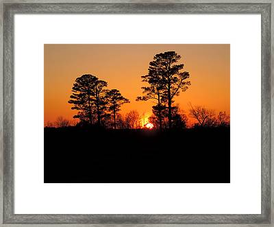 Sunset 7 Framed Print by Stephanie Kendall