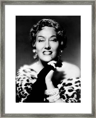 Sunset Boulevard, Gloria Swanson, 1950 Framed Print by Everett