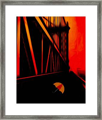 Sunset Framed Print by Jack Zulli