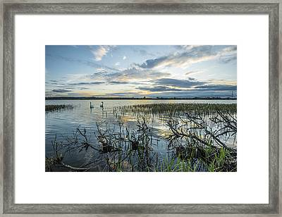 Sunset Framed Print by Jaroslaw Grudzinski