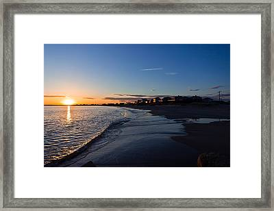 Sunset Framed Print by Jonathon Shipman