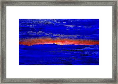 Sunset 2005 Framed Print