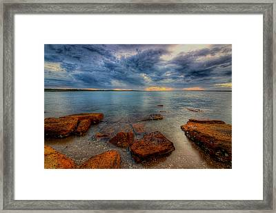 Sunset Surprise Framed Print