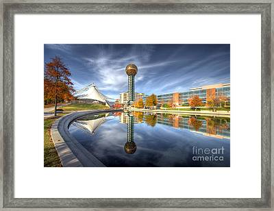Sunsphere Framed Print