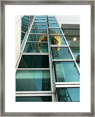 Sunsphere Reflections Framed Print