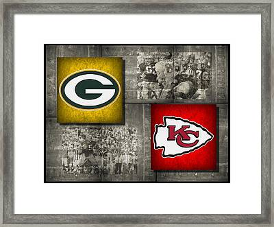 Super Bowl 1 Framed Print by Joe Hamilton
