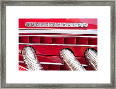 Super-charged Framed Print by Alexey Stiop