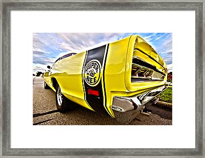 Super Close Super Bee  Framed Print
