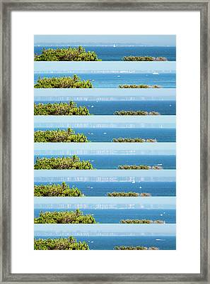 Superior Mirage Framed Print