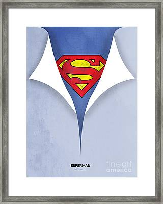 Superman 9 Framed Print