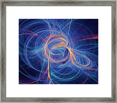 Supersymmetry Conceptual Artwork Framed Print