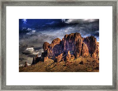 Supes-2 Framed Print by George Lenz