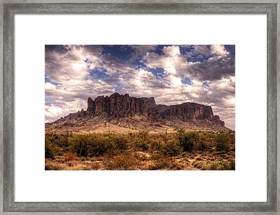 Supes-6 Framed Print by George Lenz