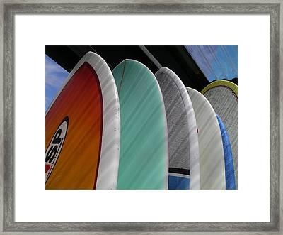 Surf Break Framed Print