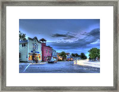 Sutton's Bay Evening Framed Print by Twenty Two North Photography