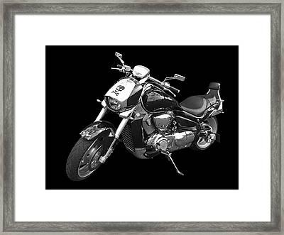 Suzuki Intruder M1800r Framed Print by Gill Billington