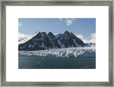 Svalbard Glacier, Norway Framed Print by Science Photo Library