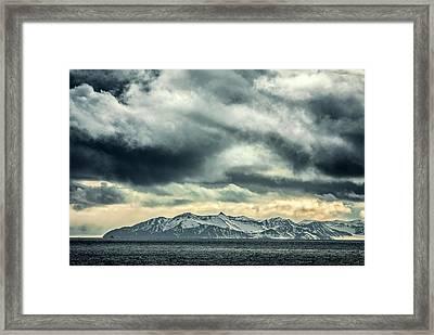 Svalbard Mountains Framed Print