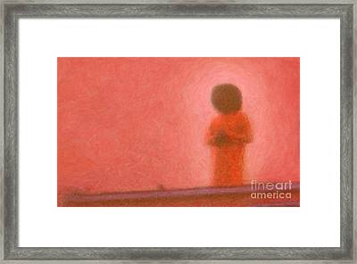 Swami Framed Print by Tim Gainey