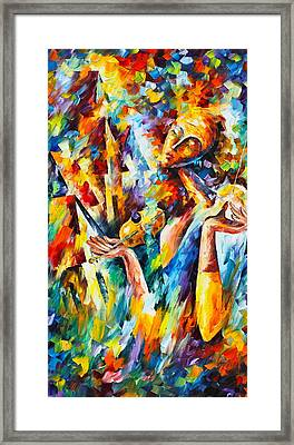 Sweet Dreams Framed Print by Leonid Afremov