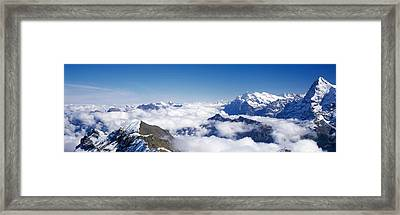 Swiss Alps Switzerland Framed Print by Panoramic Images